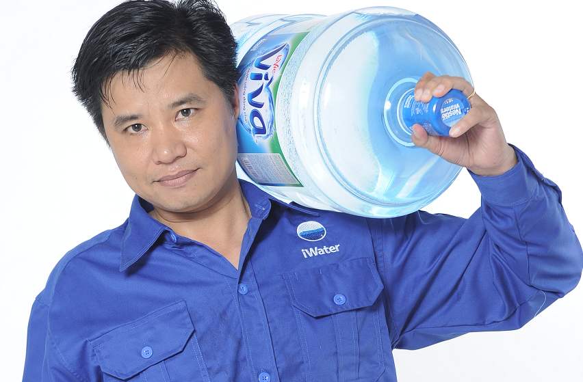 iWater cần tuyển gấp 2 nhân viên giao nước suối bình 20L tại Quận Phú Nhuận